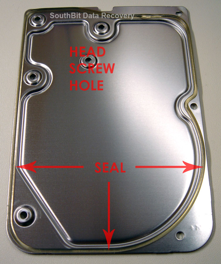Hard drive lid