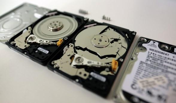 dead failing hard drive